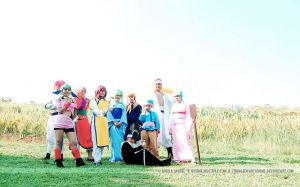 Yu Yu Hakusho Team by paganprincess-aeris