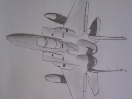 Sketched F 15 by SomethingWild7
