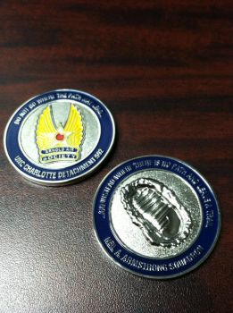 Neil A. Armstrong Squadron Coin by Blaylock1988