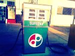 Old Fashioned Gasoline Station by RubiksMaster110