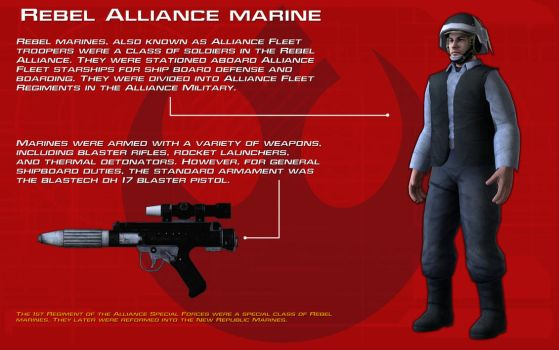 Rebel Alliance Marine tech readout [New] by unusualsuspex
