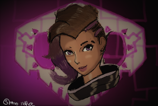 Sombra bust by Pathious