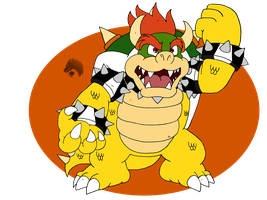 Mr.Bowser by Chibi-Tediz