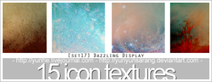 15 icon textures - dazzling by yunyunsarang