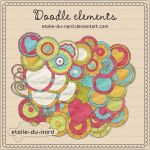 scrapbooking elements by Etoile-du-nord