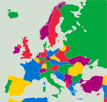 Europe Divided - 1930 by DeathPwnie