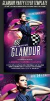 Glamour Party Flyer Template by Hotpindesigns