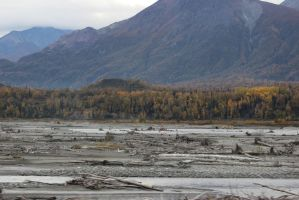 Alaska River Bed by xdancingintherain