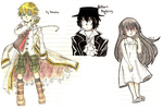 Pandora Hearts Doodles by usagi-ninja