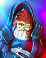 Wrex - Mass Effect by LuCCas93