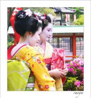 Maiko in the Koen by raine