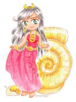 Golden Snail Princess by Marxwyn