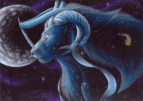 The Blue of the Universe by PoonieFox