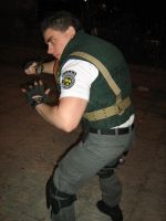 Chris cosplay re1 by Chris--Redfield