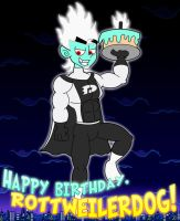 Da Ghost B-Day Cake! by TheSharkGuy