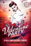 Valentine Party Flyer by styleWish