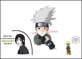 Kakashi's Tanlines by Eric727