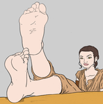 Rey's soles by Murati2882 (colored) by totoofzefrance