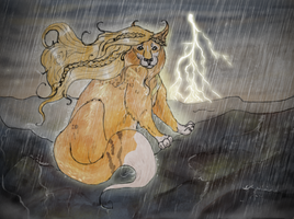 Thunder from Down under by EdithSparrow