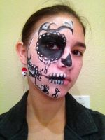 Halloween Makeup by paintedinblackwhite