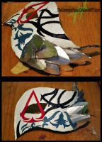 Assassin's Creed II Mask by TheGreenestRose