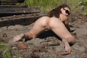 SHEILA: more than barefoot in the disused railyard by Feetosopher