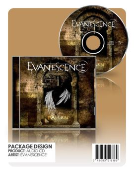 Evanescence CD by haedes