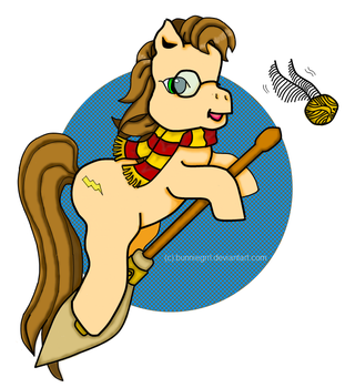 MLP Harry Potter - Colored by bunniegrrl
