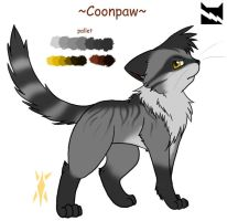 Warriors FC: Coonpaw ref by min-mew