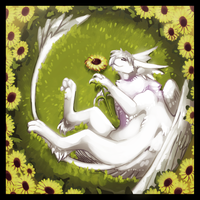 Sunflowers by Galahawk