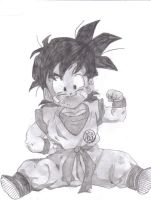 Young Gohan by AngelForAdoption