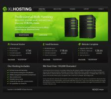 XLHOSTING by neadodesigns