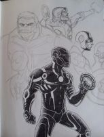 Tron Avengers by Kelden17