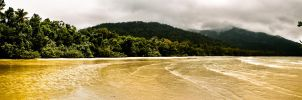 Cape Tribulation Panorama by thomasdelonge