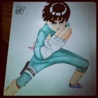 Rock Lee~ by haritte