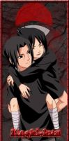 itachi and his brother by lisachan86