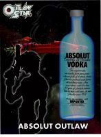 Outlaw Star: Absoult Vodka ad by SammySmall