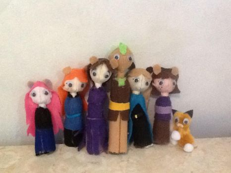 Fellowship Plushies by ShoobaQueen