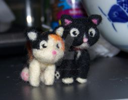 Needle felted Custom order by manGoavocaDo