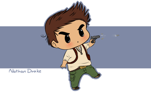 Chibi Nate by JokerSyndrom