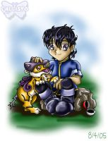 A Boy and His Raikou by CallistoHime