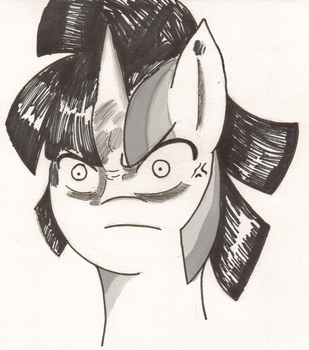 Dusk Shine is angry by Solratic
