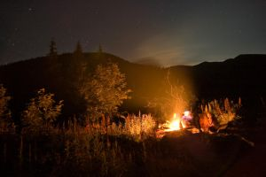 Camping by dacul