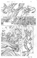 Superman Aliens II Page 4 by thecreatorhd
