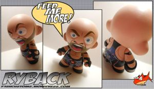 WWE Ryback by F1shcustoms