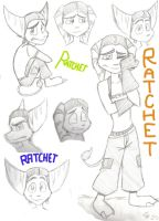 Ratchet Doodles by exploding-cheese