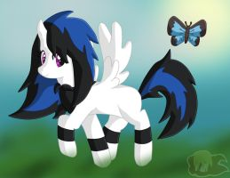 Art Trade: Sissy Is Going to Fly!! by Flame-of-Icarus