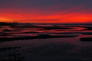 After the sunset by NorthSea
