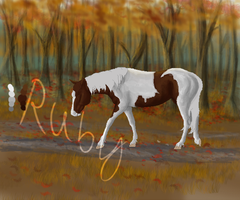 Fall Horse WIP#2 by WhimsicalRuby
