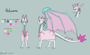Adurna Reference sheet by floravola